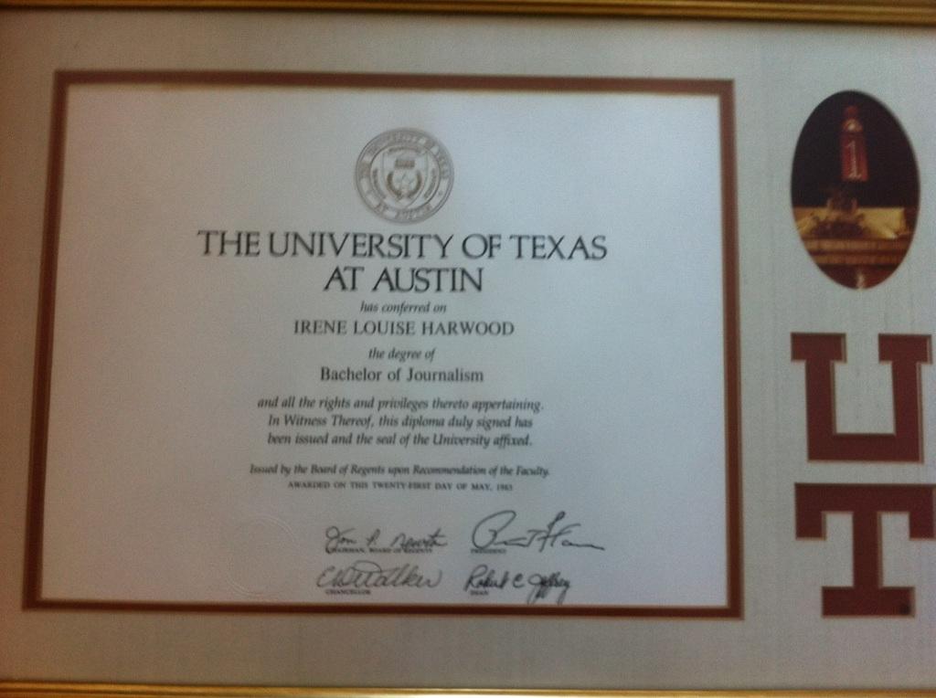 Diploma: I Lost My Diploma